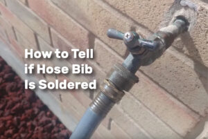 How to Tell if Hose Bib Is Soldered realestateke