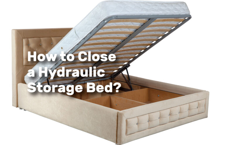 How-to-Close-a-Hydraulic-Storage-Bed realestateke